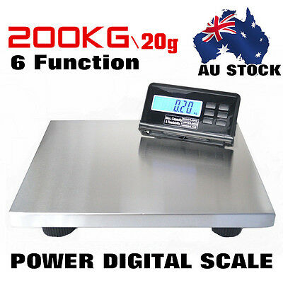 SAGA 20g/200KG DIGITAL POSTAL SCALE for SHIPPING WEIGHT POSTAGE Super Power