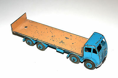 Dinky Toys 2 Tone 2nd Type Foden Flat Bed Truck With Tailboard # 903 Rare Colour