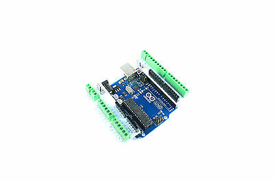 Screw Shield Pin Headers 2.54mm Arduino UNO DUEMILANOVE V2 Flux Workshop