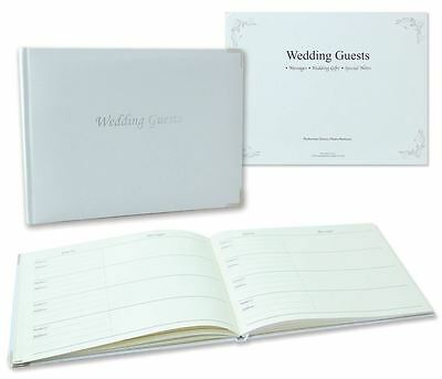 Wedding Guest Book With Keepsake Box White Message Special Note Gift Celebration