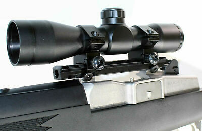 trinity hunting scope 4x32 mildot reticle with base rai mount for ruger model14