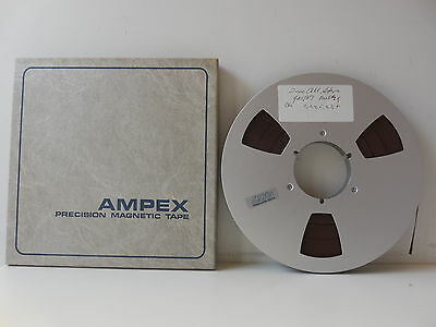 """Ampex 407 1/2"""" Reel To Reel Tape (3,600 Ft.), RECORDED ONCE"""