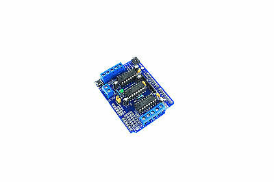 L293D 4 Channel Motor Driver Shield Stepper Servo H-Bridge Arduino Flux Workshop