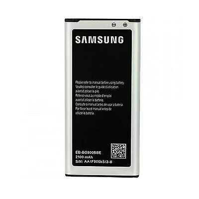 BATTERIE SAMSUNG GALAXY S5 MINI G800F ORIGINE GENUINE 2100 mAh EB-BG800CBE
