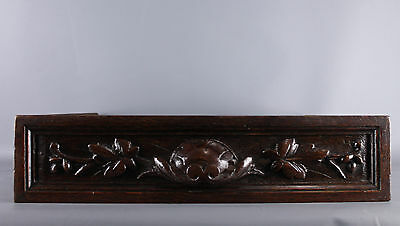 Antique French  wood carved Drawer
