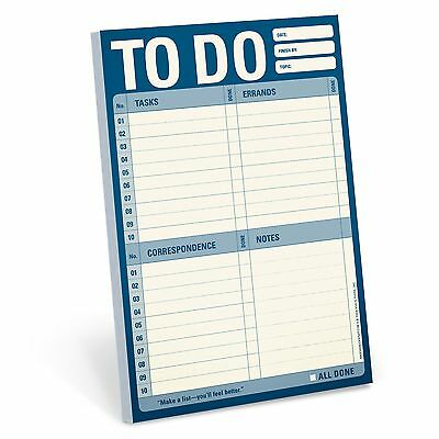 60 Sheet Daily Reminder To Do List Note Pad Organiser