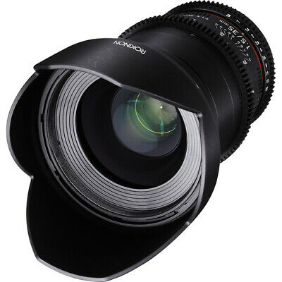 Rokinon 35mm T1.5 Cine DS Wide Angle Lens for Canon EF Mount DS35M-C