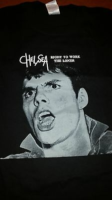Rare Chelsea Right To Work The Loner T Shirt M