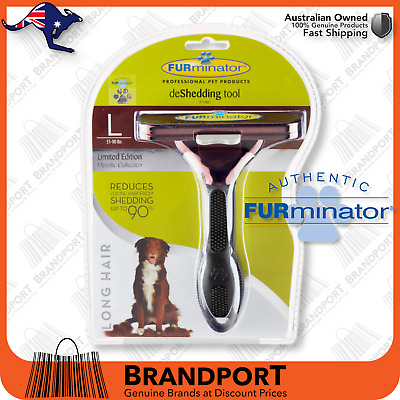 FURminator for LARGE DOG, LONG hair brush comb BUY FROM AUS AUTHORISED DEALER