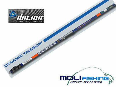 Canna Surfcasting Italica Dynamic Telesurf 4.30 M Versione Light Medium-Carbonio
