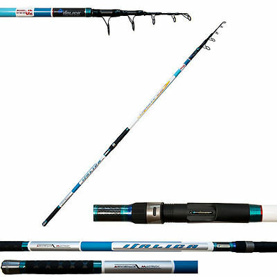 Canna Surfcasting Italica Liberty Telesurf 4.30 M Azione Ultra Light-Match-Sport