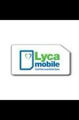 Lycamobile Uk Pay As You Go Sim Card With £10 Preloaded Credit