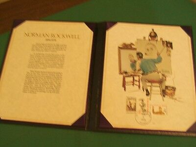 Memorial Tribute to Norman Rockwell Print