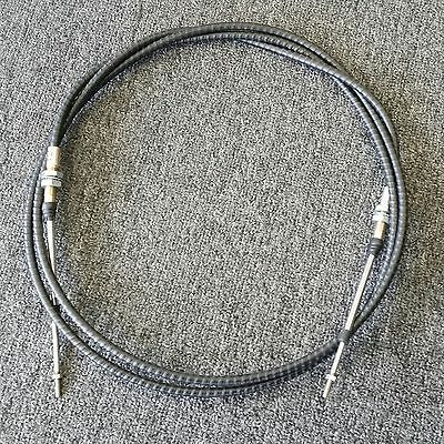 Vw Bug Buggy Morse Throttle Cable 7 Ft Bulk Head Style Push Pull Cable