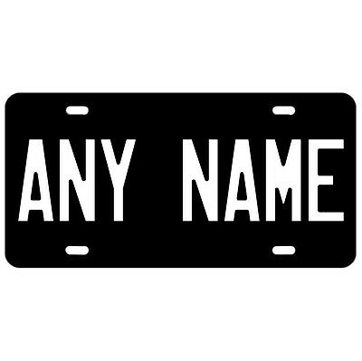 Custom ANY NAME OR WORD Vanity License Plate Personalized Novelty Car Truck Tag