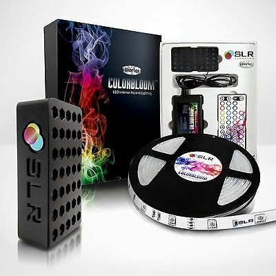 Waterproof LED Strip Light Kit - SLR® ColorBloom Multi-Color 5m 5050 12v rgb