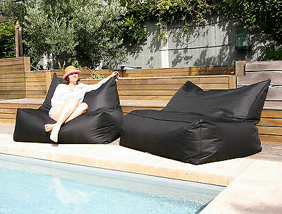 USTIME Outdoor / Indoor Bean Bag - Large Water Resistant Beanbag Chair Cover