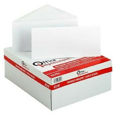 500 White Business Mailing Letter Envelopes Box Size #10 - Free Shipping!