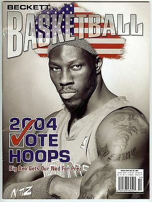 Beckett Basketball Card Magazine - October 2004
