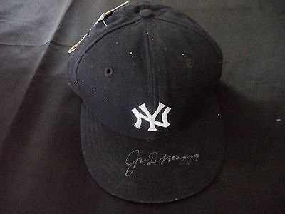 JOE DiMAGGIO Signed NY Yankees MLB 7 1/4 Hat NEW With Tags JSA Authenticated