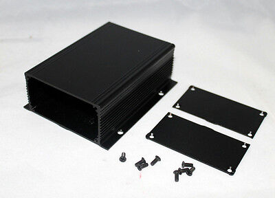 Black Aluminum Project Box Case Electronic box1166 Al Enclosure; US Stock