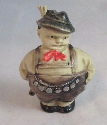 Original Antique c1930 ~~RoLy PoLy GERMAN MAN; TAPE MEASURE~~RaRe CELLULOID