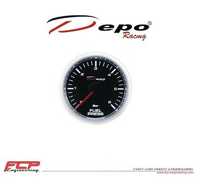 Depo Racing Digital Benzindruck Anzeige / Fuel Pressure Gauge Csm-W5267B 0-7 Bar