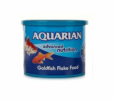 3x AQUARIAN GOLDFISH FLAKE FOOD 200g - Posted Today if Paid Before 1pm