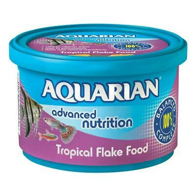 3x Aquarian Tropical Fish Flake 200g - Posted Today if Paid Before 1pm