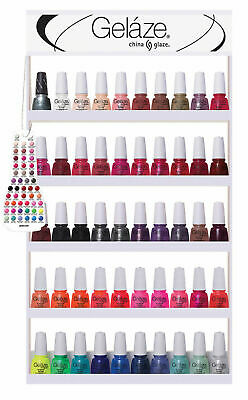 Gelaze by China Glaze Gel Color Polish CORE Collection 2 0.5 fl oz
