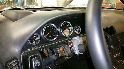 "240SX S13 (1989-1993) Speedometer Cluster: Black 3.375 "" and 52mm"