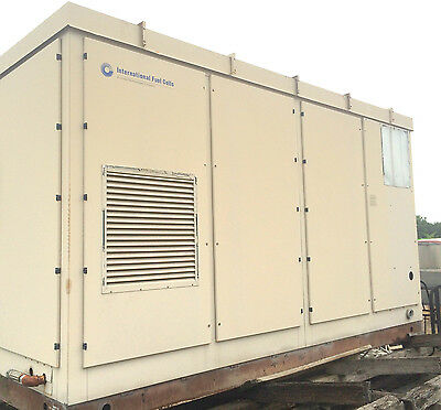 Fuel Cell Model:PC25C-3CJ  200 KW United Technologies/Intl Fuel Cells/Dooson