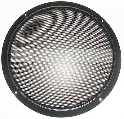"2pcs 10"" Inch Auto Dustproof Speaker Decorative Circle with Protective Grille"