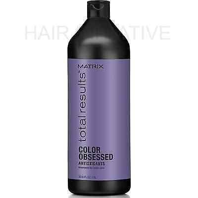 Matrix NEW Total Results Color Obsessed Shampoo 1000ml/1 Litre (Was Color Care)