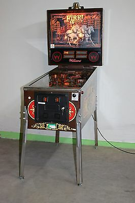 FIRE Flipper Pinball von Williams F0691