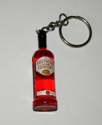 Vintage Southern Comfort Plastic Bourbon Bottle Advertising  Promo Key Chain New