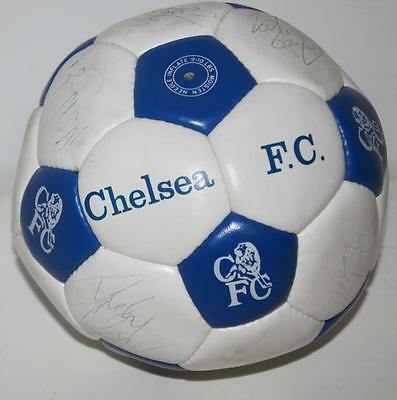 Chelsea FC Signed Ball No Certificate Sold As Seen - FREE Postage [PL989]