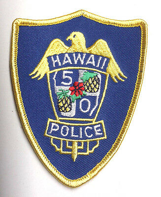 """Hawaii 5-O TV Series  4"""" Embroidered Patch- FREE S&H (EBPA-H5O)"""