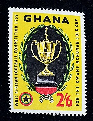 Ghana Stamps # 65 MINT MNH 1959 West African Football Competition (cup,soccer)