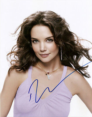 Katie Holmes Genuine Authentic Signed 10X8 Photo Aftal & Uacc [11673]