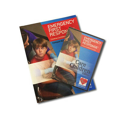 PADI Emergency First Response Care for Children Manual EFR 1st Aid CPR