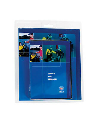 PADI Search & Recovery Diver Speciality - manual DVD crewpack