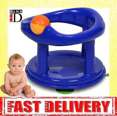 Safety 1st Swivel Bath Seat for Baby Primary Blue Boy Bath Seat Chair BRAND NEW