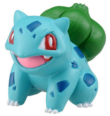 "2"" Bulbasaur Figure - MC-002 - Pokemon X & Y Pokemon Go Takaratomy Toy"