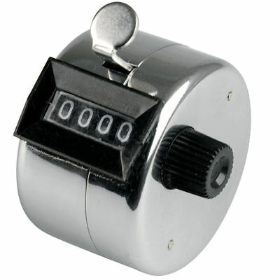 4 Digit Tally Counter for Traffic/Attendance/Inventory ideal for Business/Office
