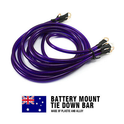 Universal 5 Point HKS Grounding Kit Earth Ground Wire Cable Performance Purple