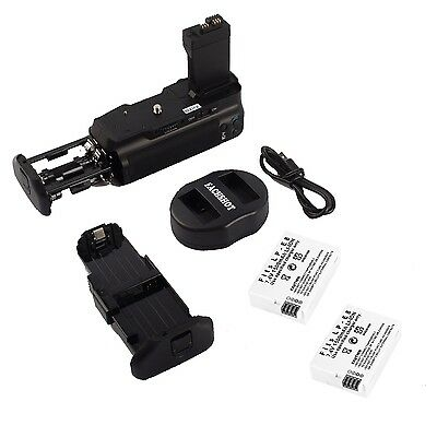 MeiKe BG-E8 Battery Grip for Canon 550D 600D 650D 700D + 2* LP-E8 + USB Charger