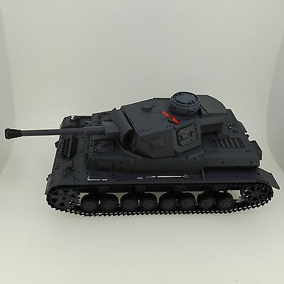 Heng Long 1/16 Scale Radio Remote Control RC German PzKpf.IV Army War Tank