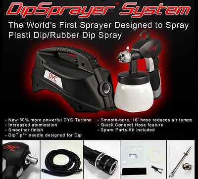 DYC Dipsprayer System Gun 4 Plasti Dip Rubber Coating By Earlex Spray Gallon Dip