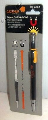 Mayhew Catspaw Lighted Extendable Pen Pick-Up Tool # 45045
